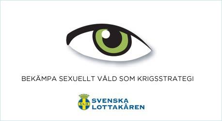 Ögat-insamlingen – bekämpa sexuellt våld som krigsstrategi. Blunda inte för övergreppen.